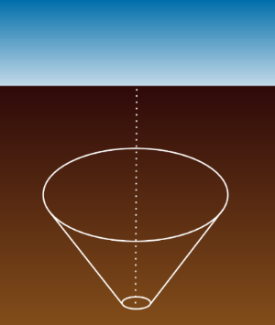 Diagram of a Frustum Cone